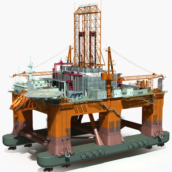 oil rig semi-submersible lwo