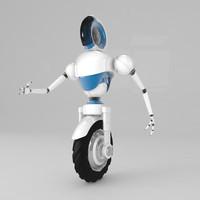 robo rolling 3d model