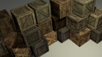 Wooden Boxes Pack FREE