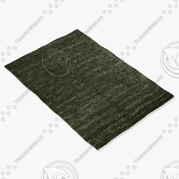 3d model amara rug smart l-clove
