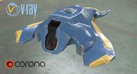 corona 3d model