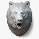 bear statue 3D models