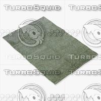 3d model of amara rug smart l-glass
