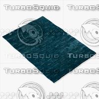 3d model amara rug smart l-ocean