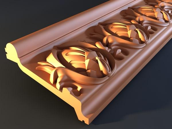3d cornice mold decor