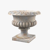 3d doulton style urn royal