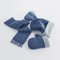 Winter accessories blue