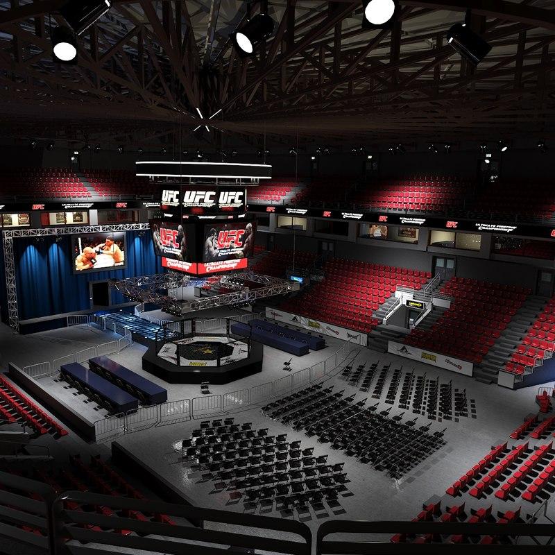 ufc fighting arena max