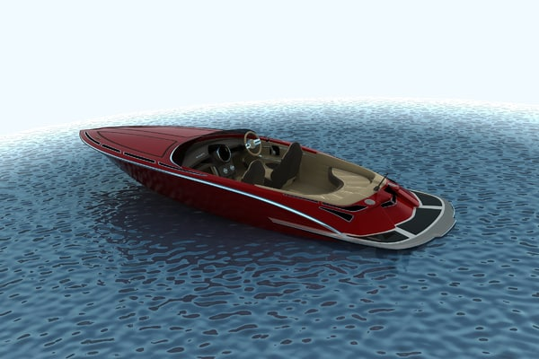 max speed boat
