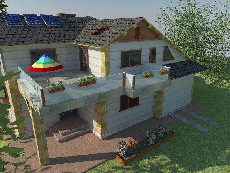 3d residential resident