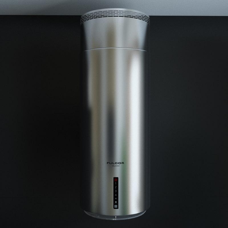 appliances fulgor milano supreme 3d model