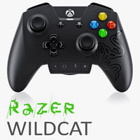 3d razer wildcat xbox model