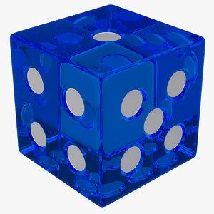 3d model dice 1