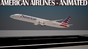 max american airlines animation