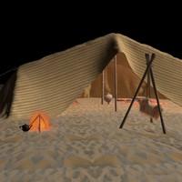 Tent desert Arabs