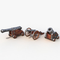 Cannons set