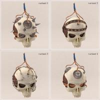 3d model 4 sets skull bomb