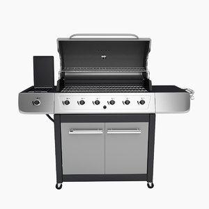gas grill burner max