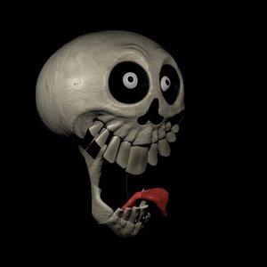 skull 3d model