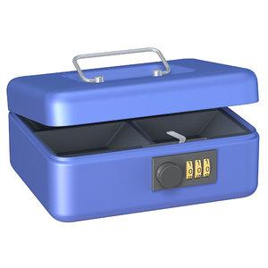 3d model cash box