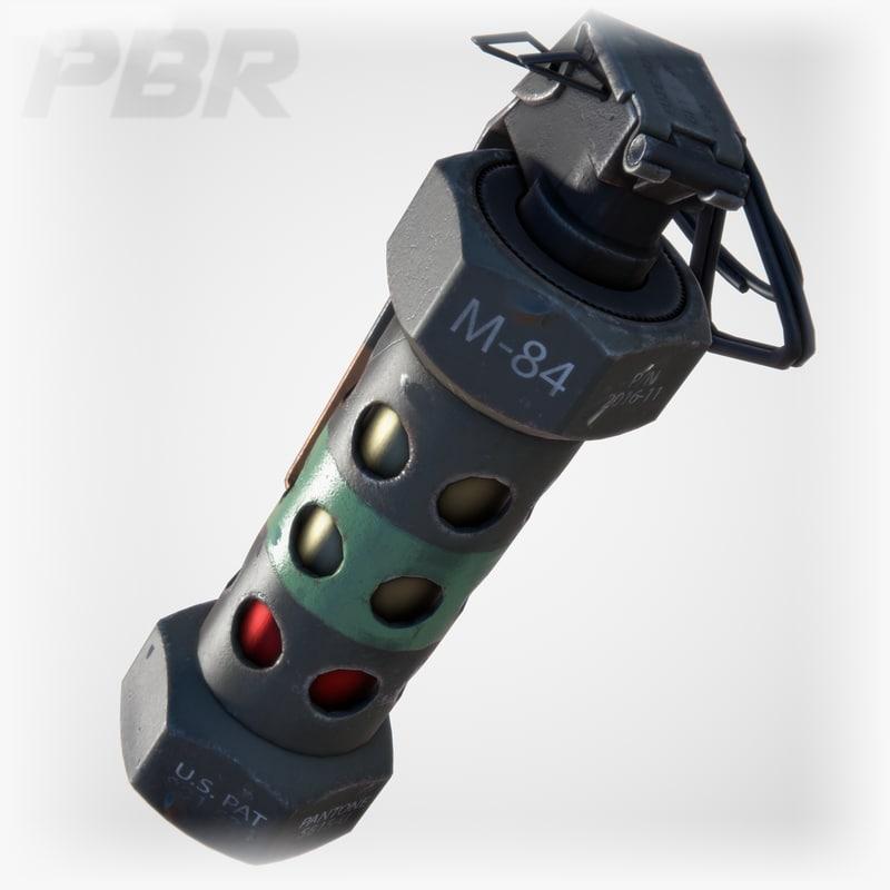 obj m84 stun grenade
