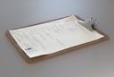 Cardboard clipboard