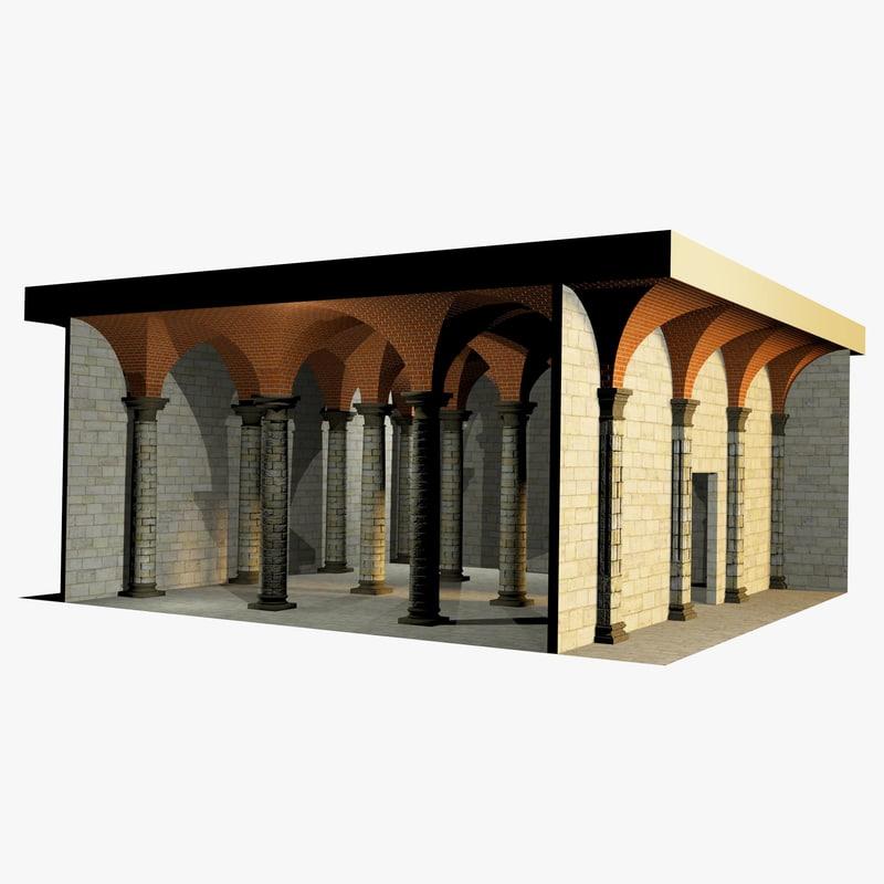 romanic vaulting simple column max