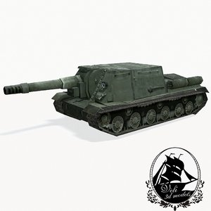 max isu-152 heavy tank