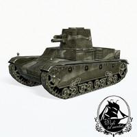3d max vickers 6-ton tank e