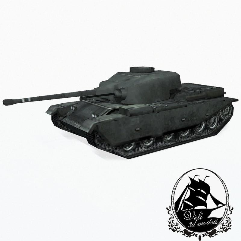 3d centurion battle tank