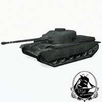 3d centurion battle tank