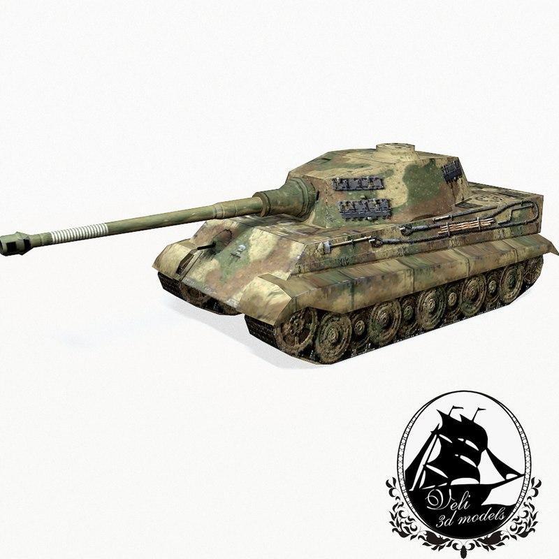 3d tiger ii