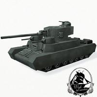 3d o-i tanks model