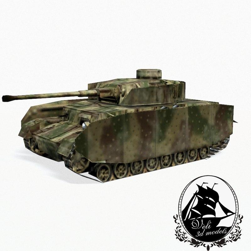 panzerkampfwagen iv tank obj