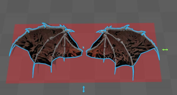 3d model wing