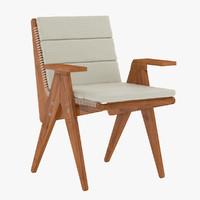 david sutherland armchair 3d model