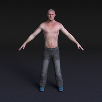 Male Model #3 - Rigged