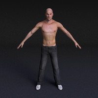 Male Model #4 - Rigged