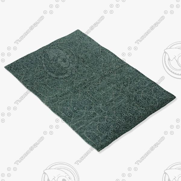amara rug smart ng-ltblue 3d max