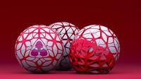 free balls bool 3d model