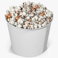 popcorn cup 4 3d max
