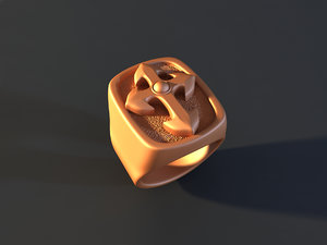 ring mold jewelry 3d max
