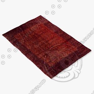 3d amara rug smart pab model