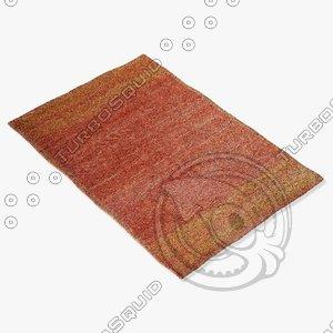 amara rug smart pyukn 3d model