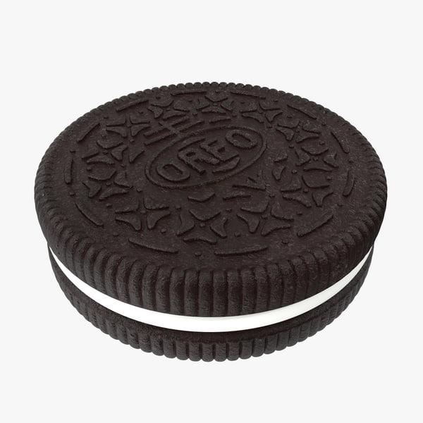 3d oreo cookie