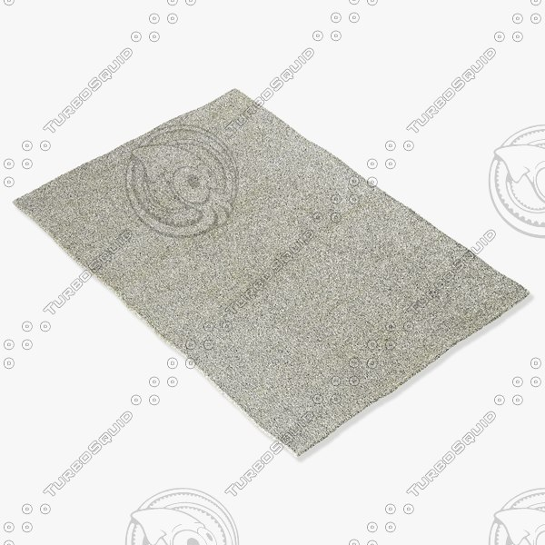 amara rug smart s-ivory 3d model