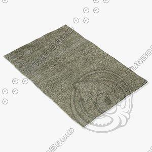 amara rug smart s-ltblue 3d model