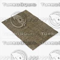 amara rug smart s-olive 3d model