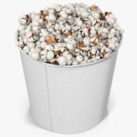 3d model popcorn cup 5