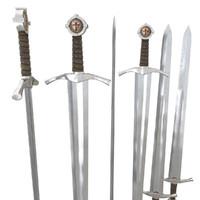 3d model sword templar